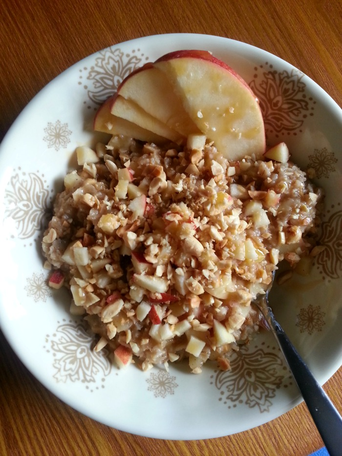 caramel apple oats1